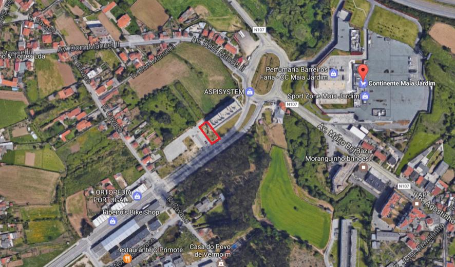 Lote de terreno para construção   Cidade da Maia